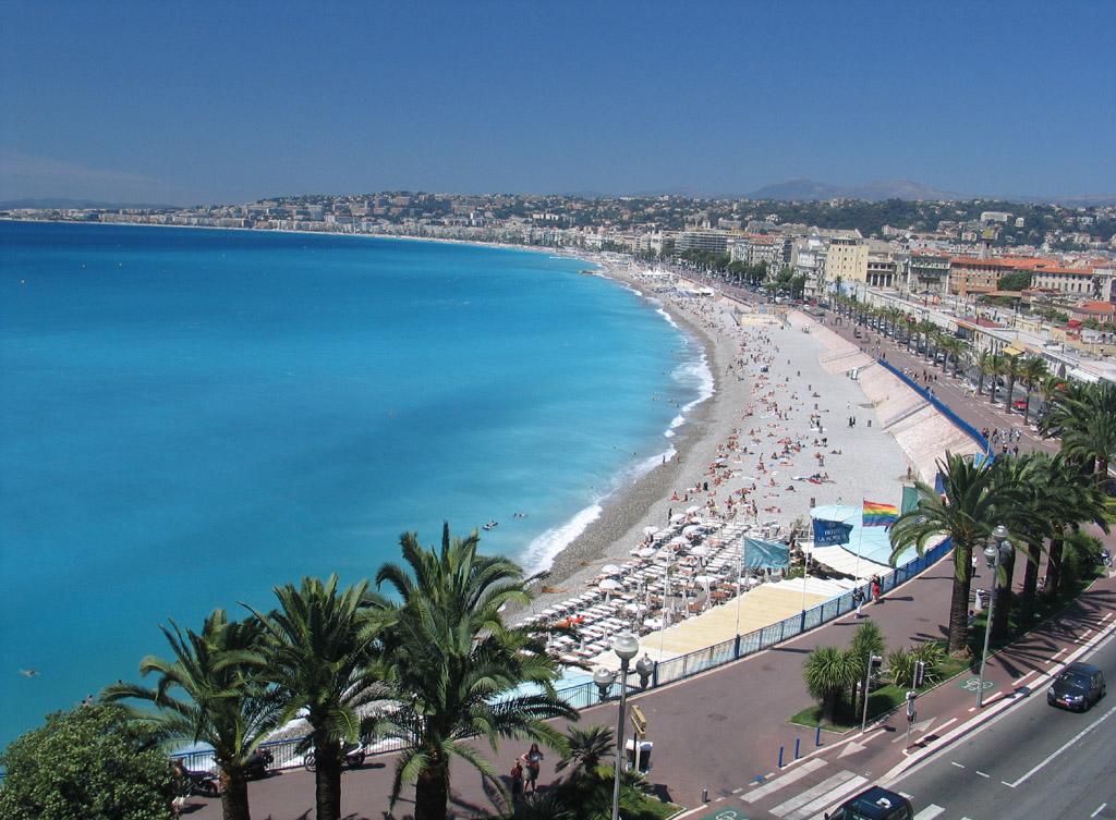 Пляж Ницца во Франции, фото 4