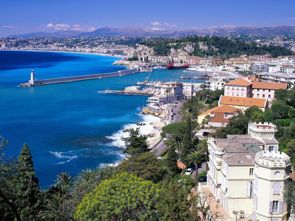Пляж Ницца во Франции, фото 5