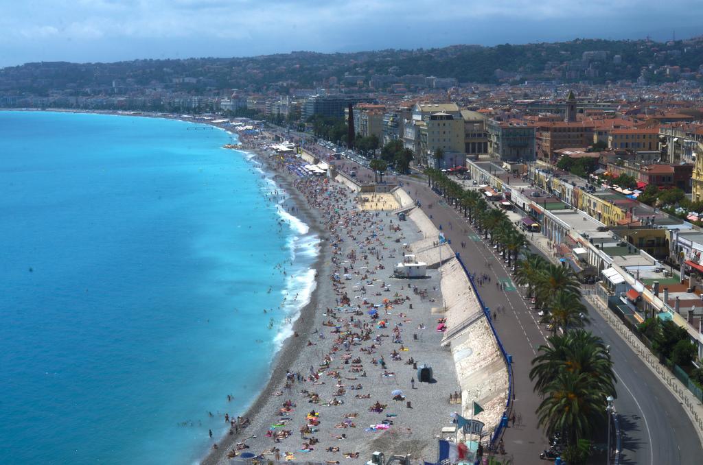Пляж Ницца во Франции, фото 6