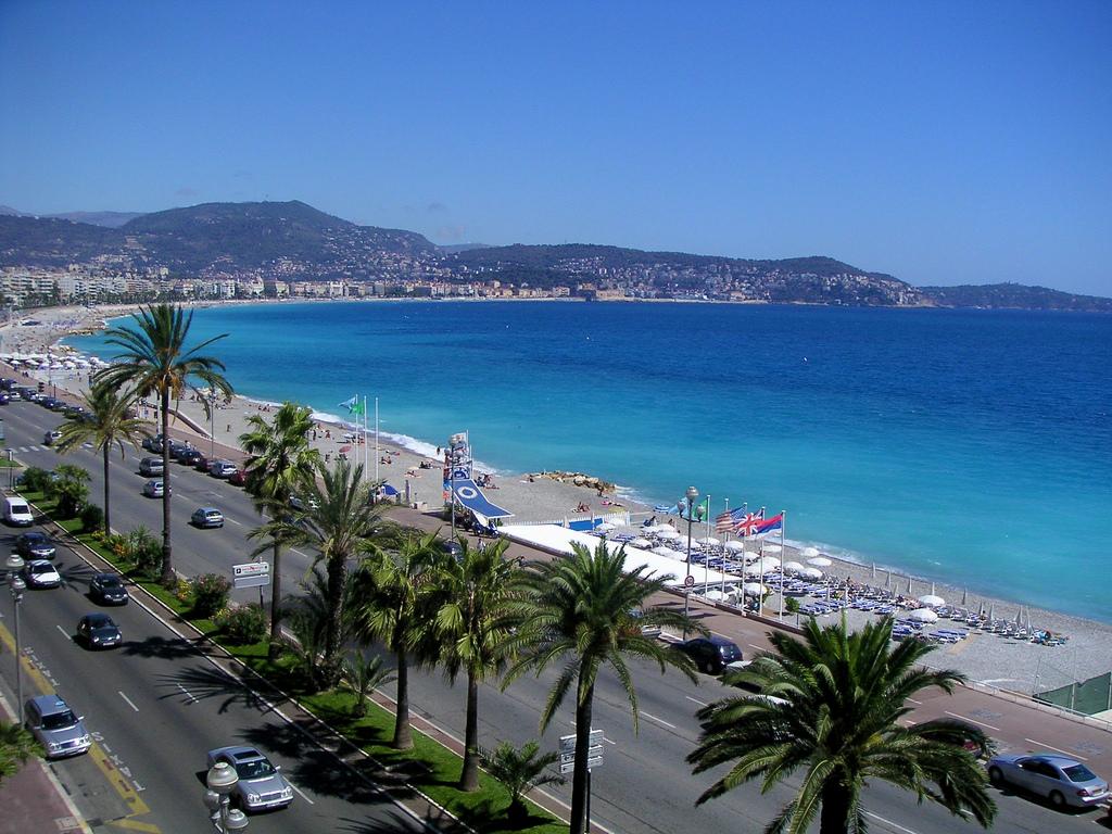 Пляж Ницца во Франции, фото 7