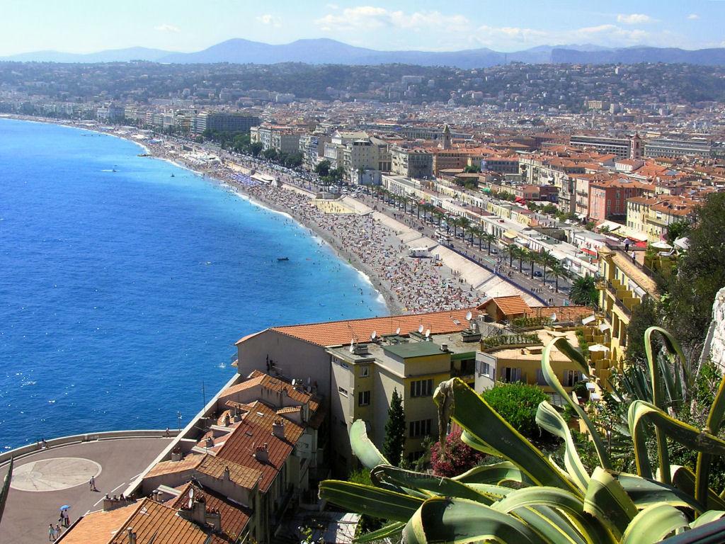Пляж Ницца во Франции, фото 8