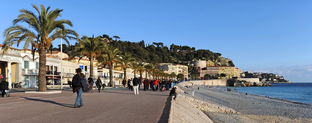 Пляж Ницца во Франции, фото 9