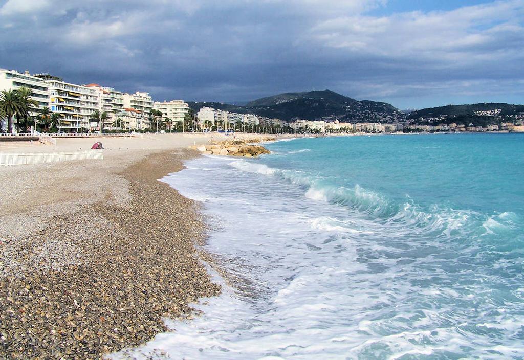 Пляж Ницца во Франции, фото 10