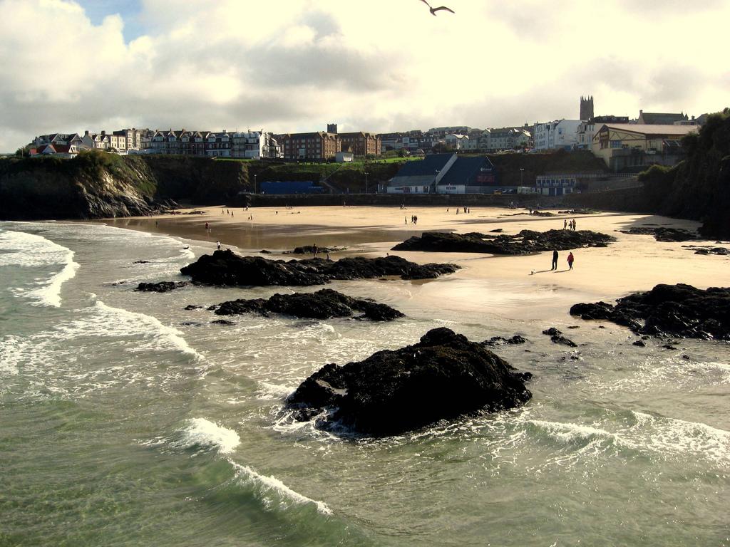 Пляж Ньюквей в Великобритании, фото 4