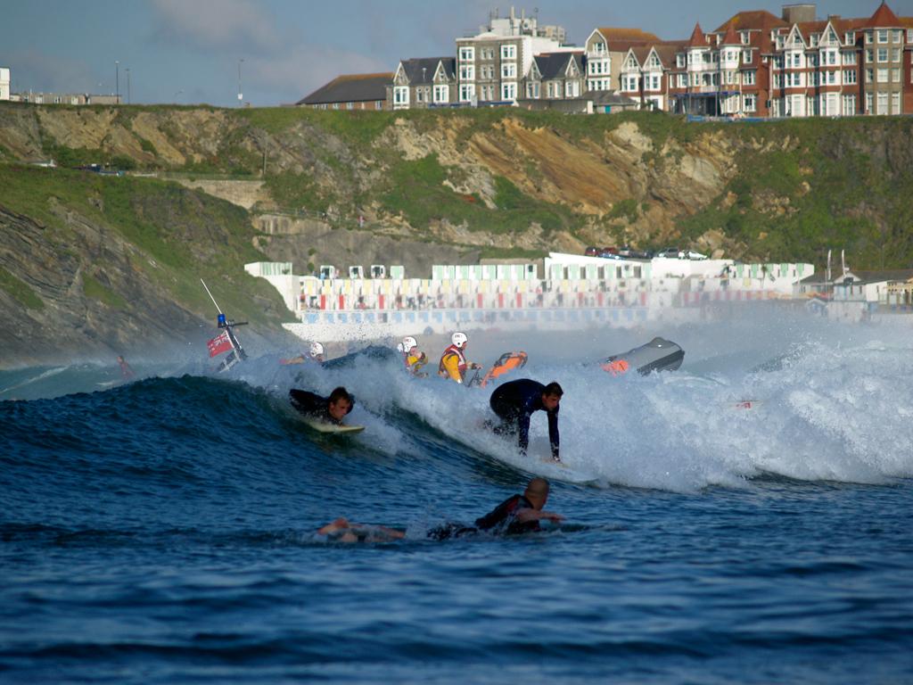 Пляж Ньюквей в Великобритании, фото 6