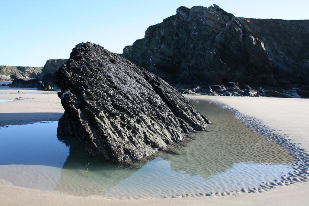 Пляж Ньюквей в Великобритании, фото 7