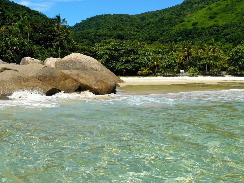 Пляж острова Илья Гранде в Бразилии, фото 2