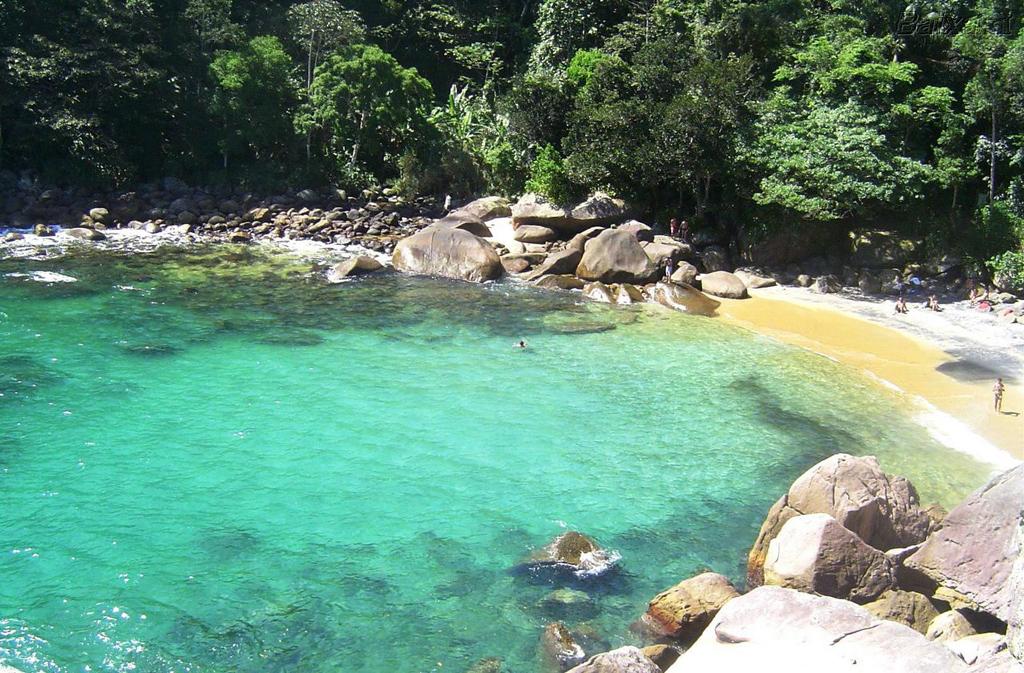 Пляж острова Илья Гранде в Бразилии, фото 4