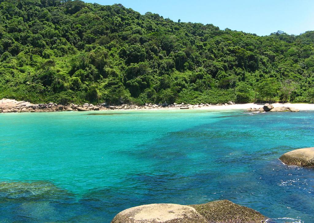 Пляж острова Илья Гранде в Бразилии, фото 6