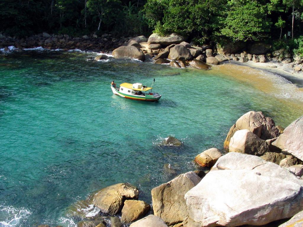 Пляж острова Илья Гранде в Бразилии, фото 8