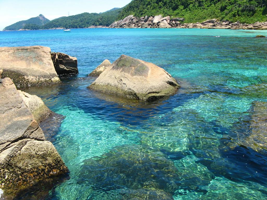 Пляж острова Илья Гранде в Бразилии, фото 9
