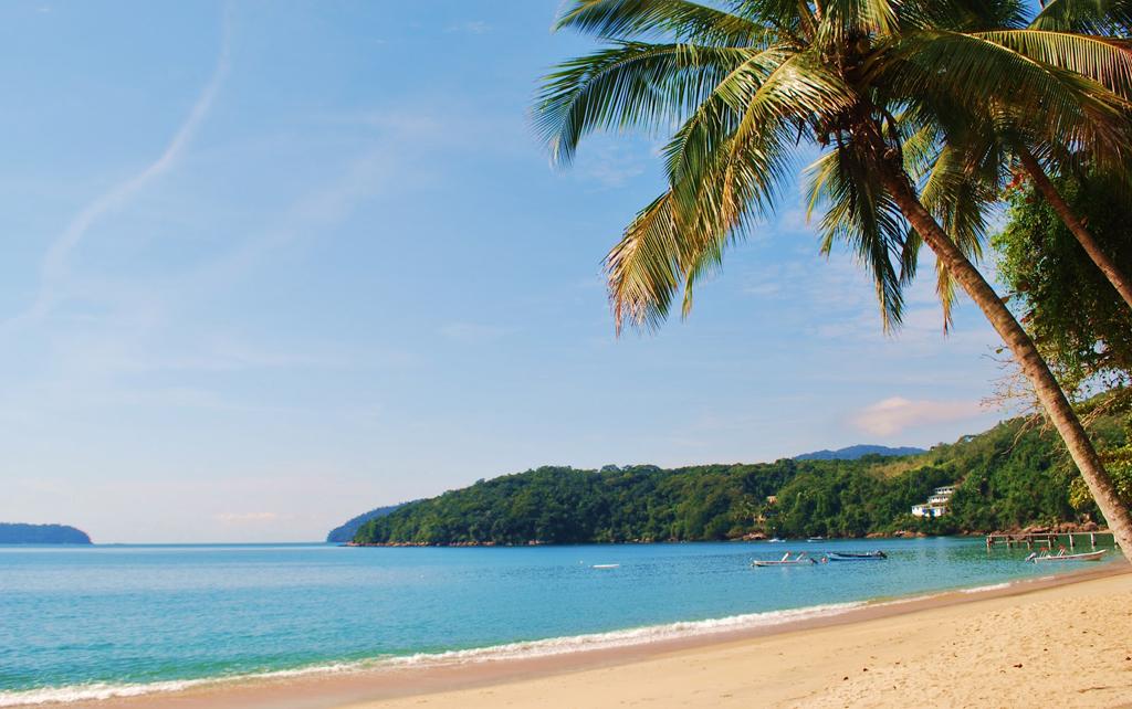 Пляж острова Илья Гранде в Бразилии, фото 12