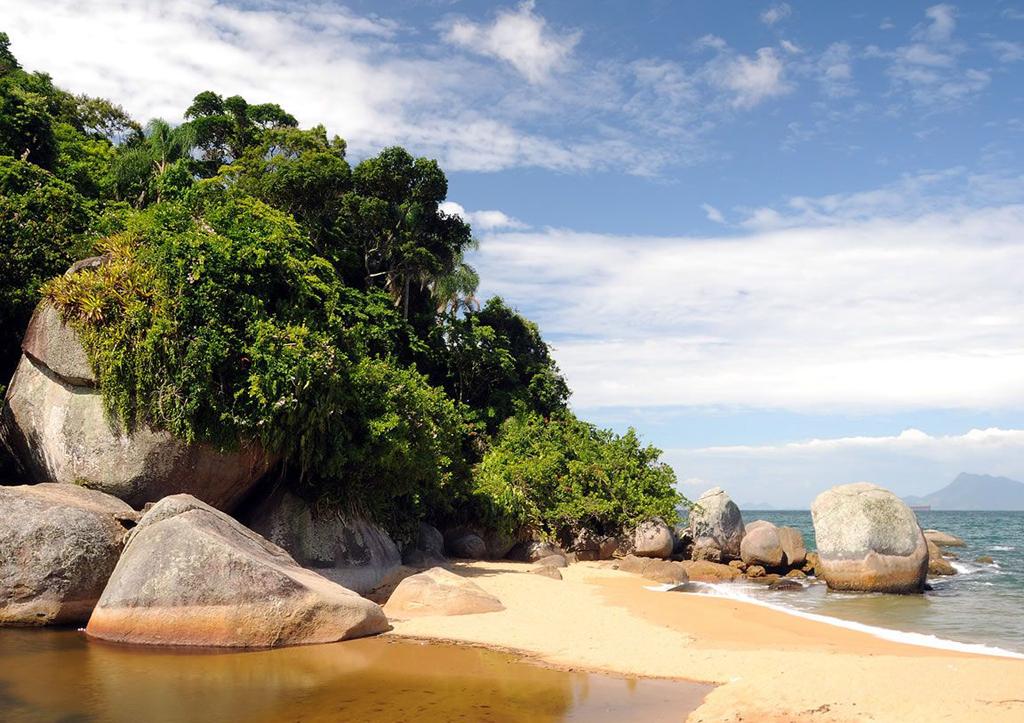 Пляж острова Илья Гранде в Бразилии, фото 14