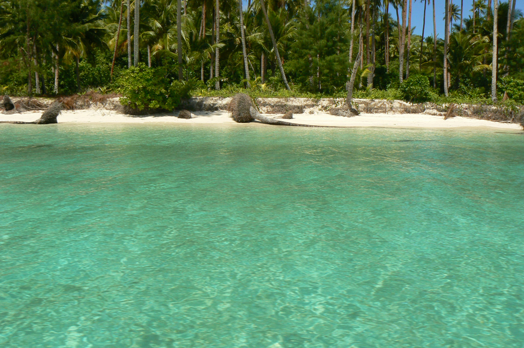 Пляж острова Кей Кечил в Индонезии, фото 1