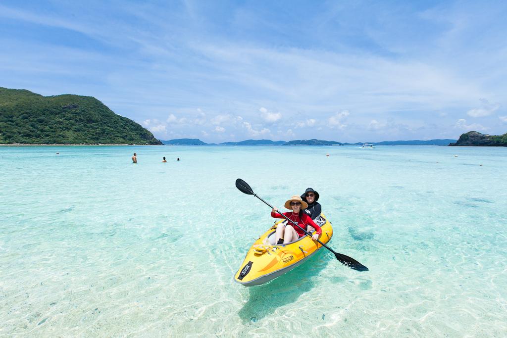 Пляж острова Керама в Японии, фото 1
