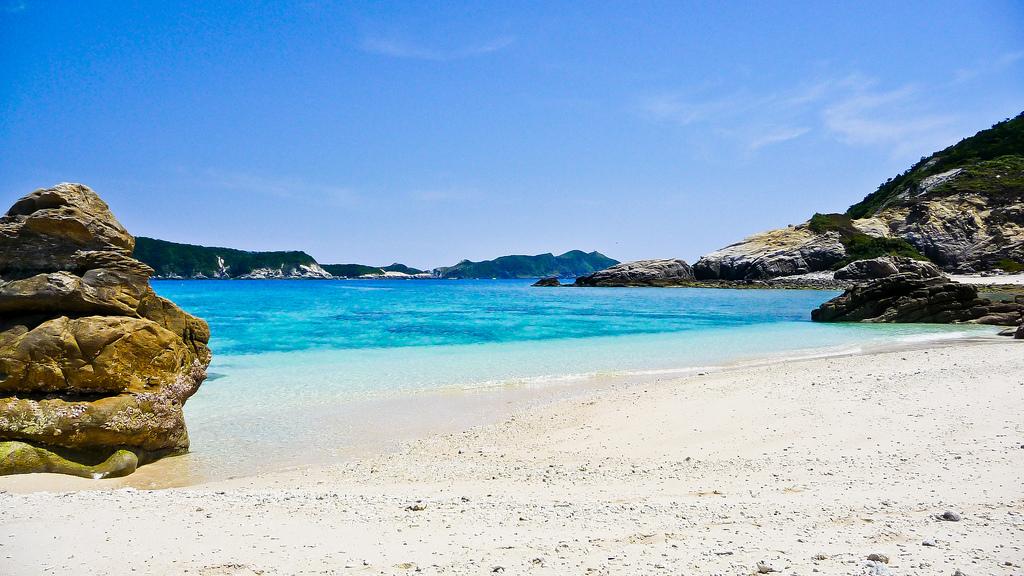 Пляж острова Керама в Японии, фото 3