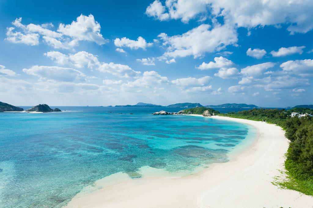 Пляж острова Керама в Японии, фото 4