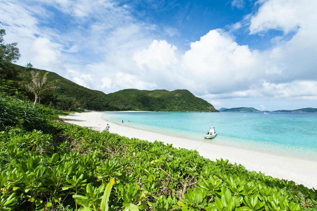 Пляж острова Керама в Японии, фото 6