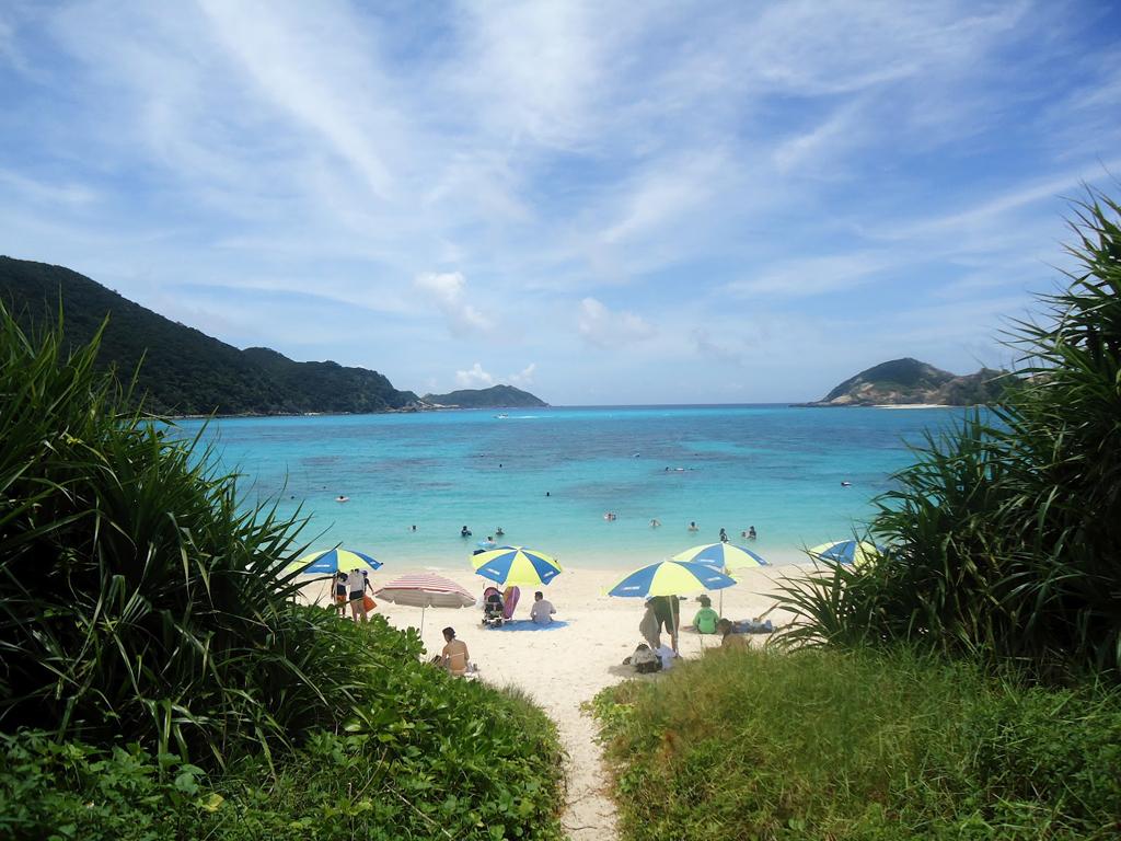 Пляж острова Керама в Японии, фото 7