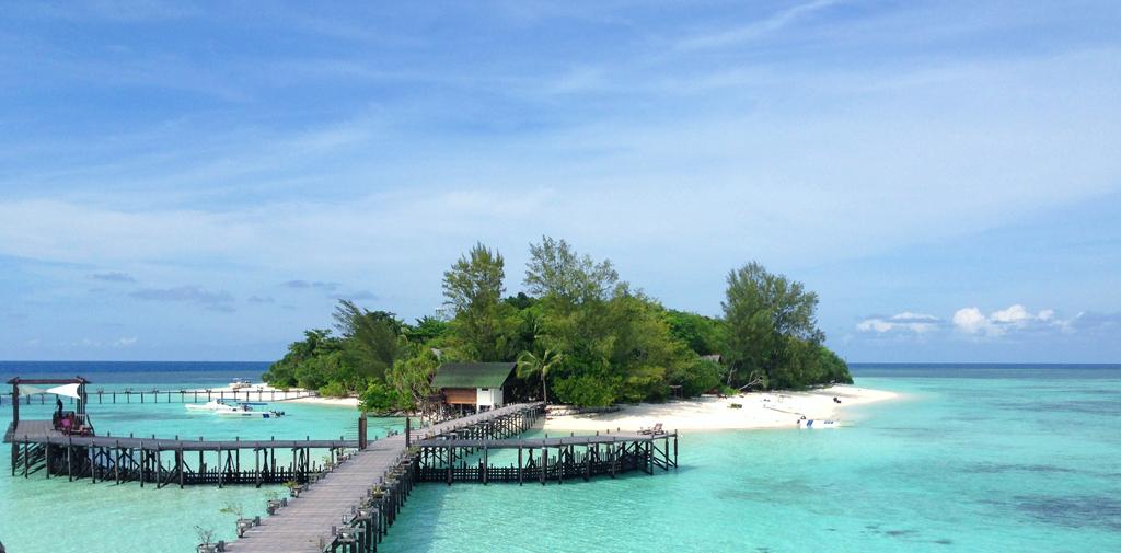 Пляж острова Ланкайан в Малайзии, фото 2