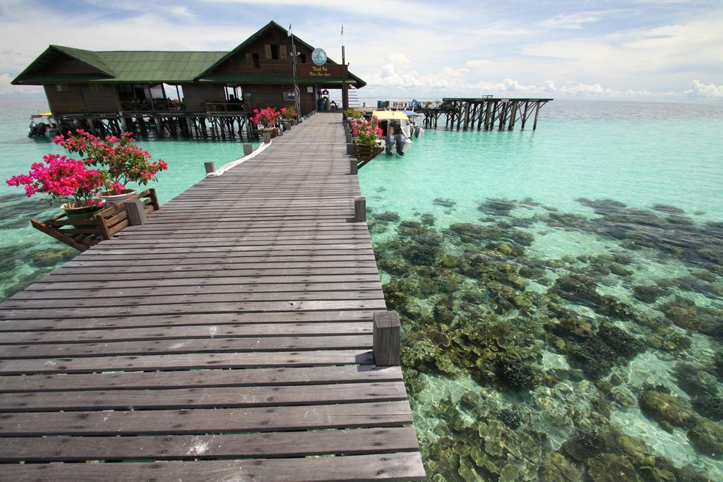 Пляж острова Ланкайан в Малайзии, фото 6