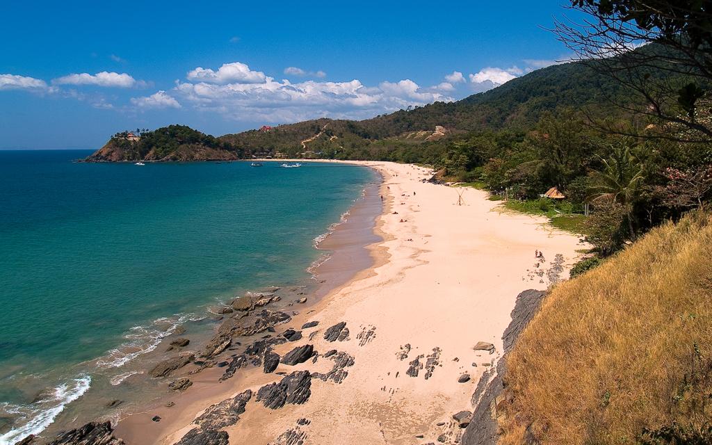 Пляж острова Ланта в Таиланде, фото 2