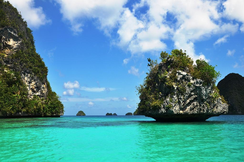 Пляж острова Раджа Ампат в Индонезии, фото 3