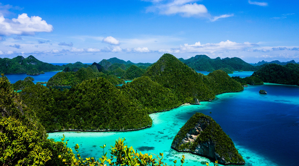 Пляж острова Раджа Ампат в Индонезии, фото 6