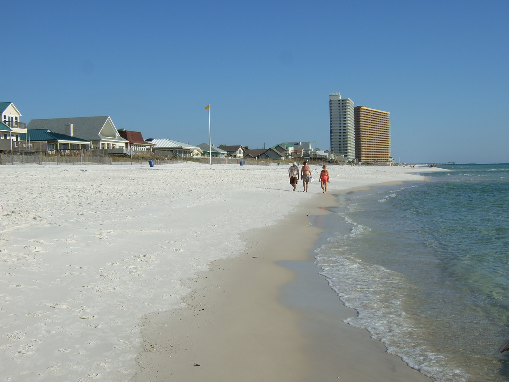 Пляж Панама Бич в США, фото 2