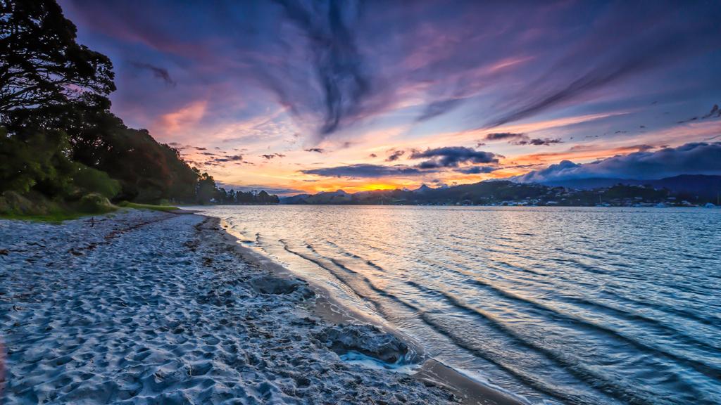 Пляж Пауануи в Новой Зеландии, фото 1
