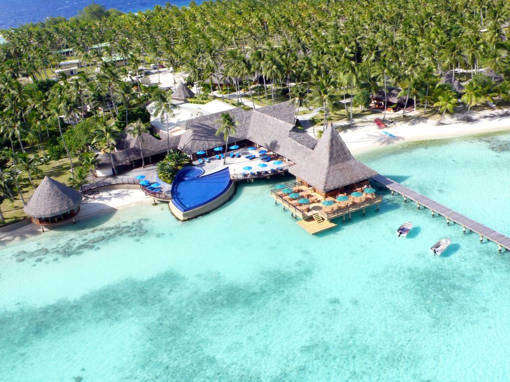 Пляж Атолл Рангироа во Французской Полинезии, фото 1