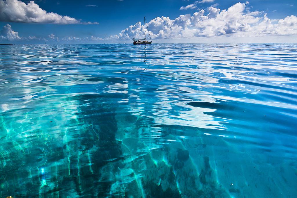 Пляж Атолл Рангироа во Французской Полинезии, фото 2