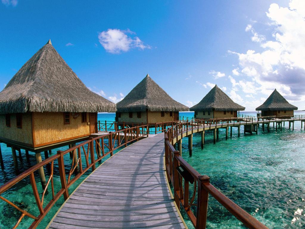 Пляж Атолл Рангироа во Французской Полинезии, фото 5