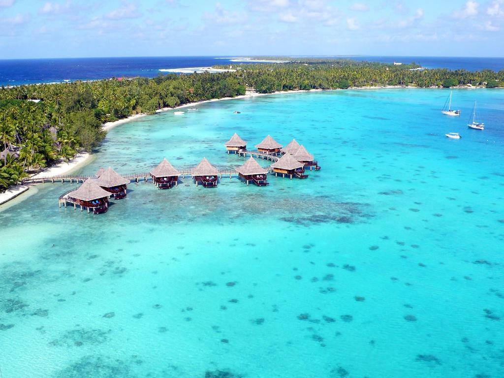 Пляж Атолл Рангироа во Французской Полинезии, фото 7