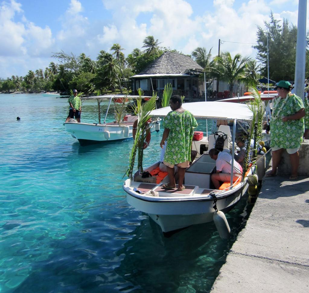 Пляж Атолл Рангироа во Французской Полинезии, фото 13