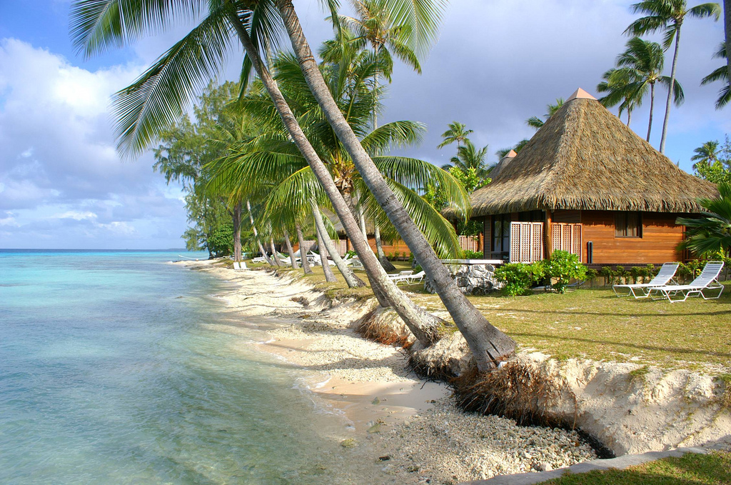 Пляж Атолл Рангироа во Французской Полинезии, фото 14