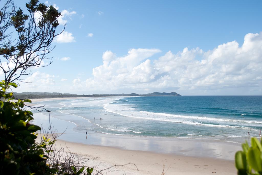 Пляж Байрон-Бэй в Австралии, фото 5