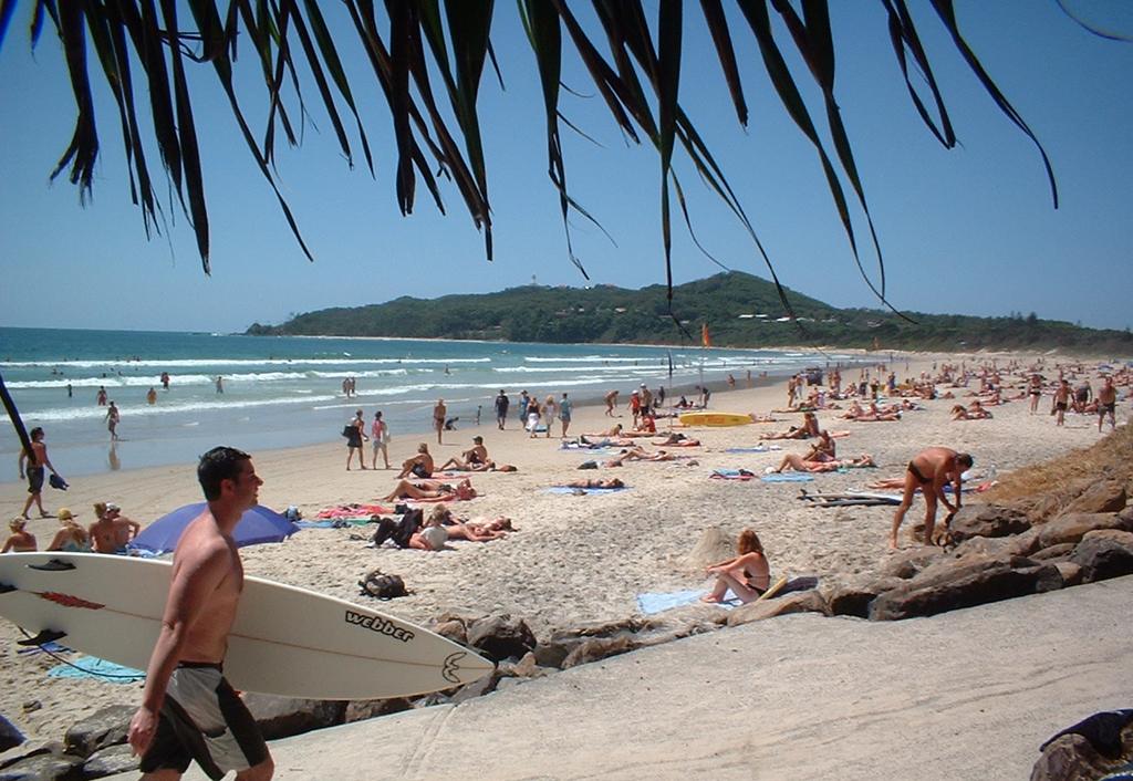 Пляж Байрон-Бэй в Австралии, фото 6