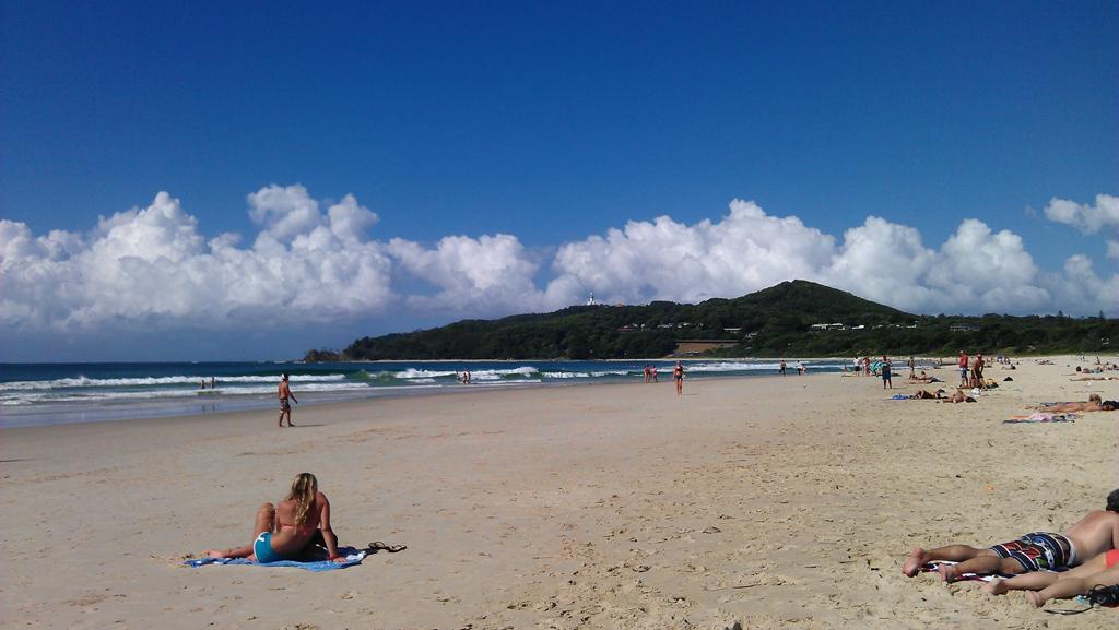 Пляж Байрон-Бэй в Австралии, фото 8