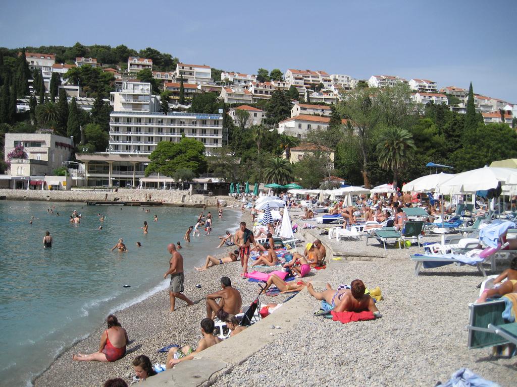 Пляж Банье в Хорватии, фото 6