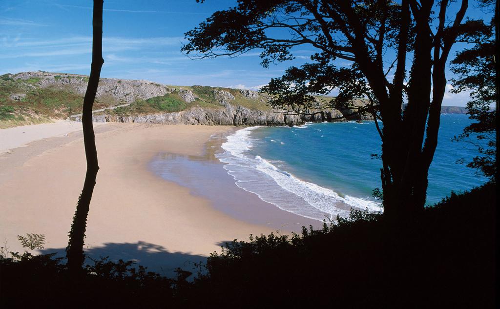 Пляж Барафандл в Великобритании, фото 1