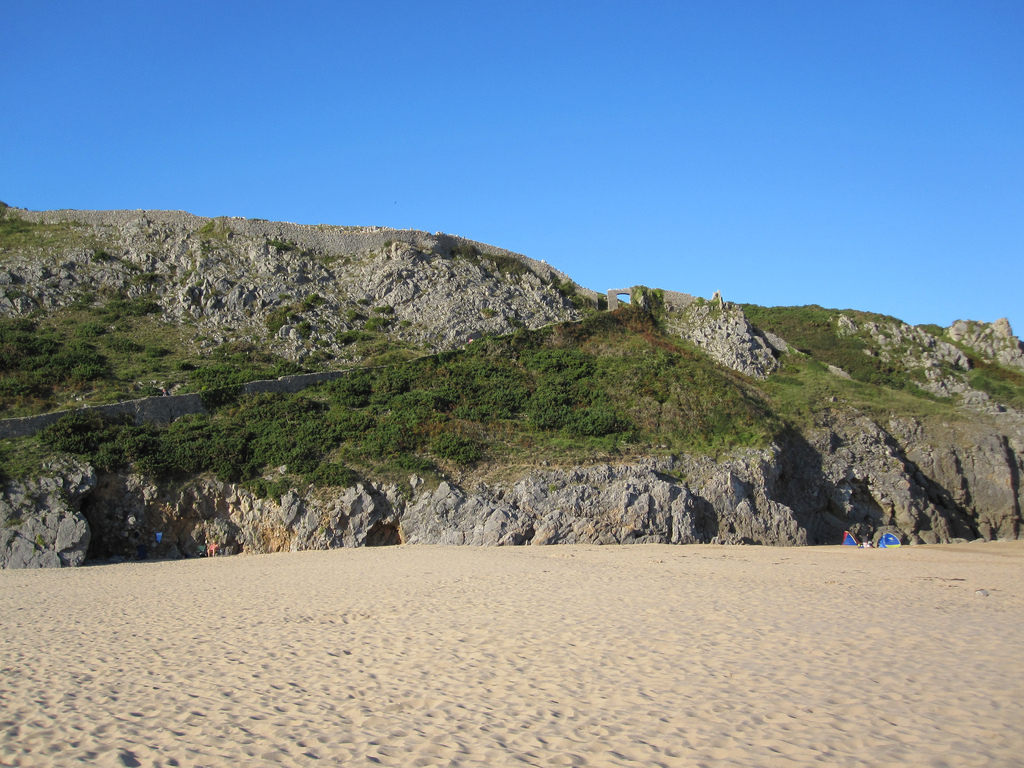 Пляж Барафандл в Великобритании, фото 3