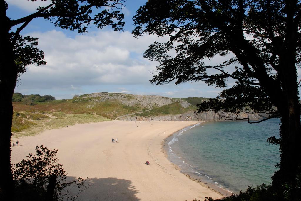 Пляж Барафандл в Великобритании, фото 9