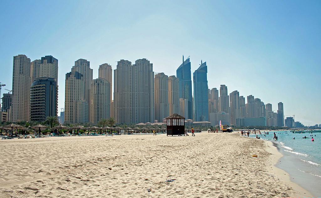 Пляж Джумейра в ОАЭ, фото 2