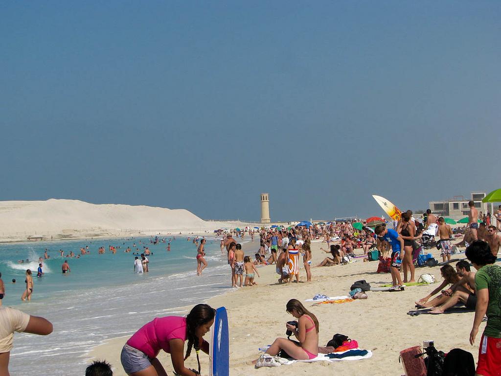 Пляж Джумейра в ОАЭ, фото 4