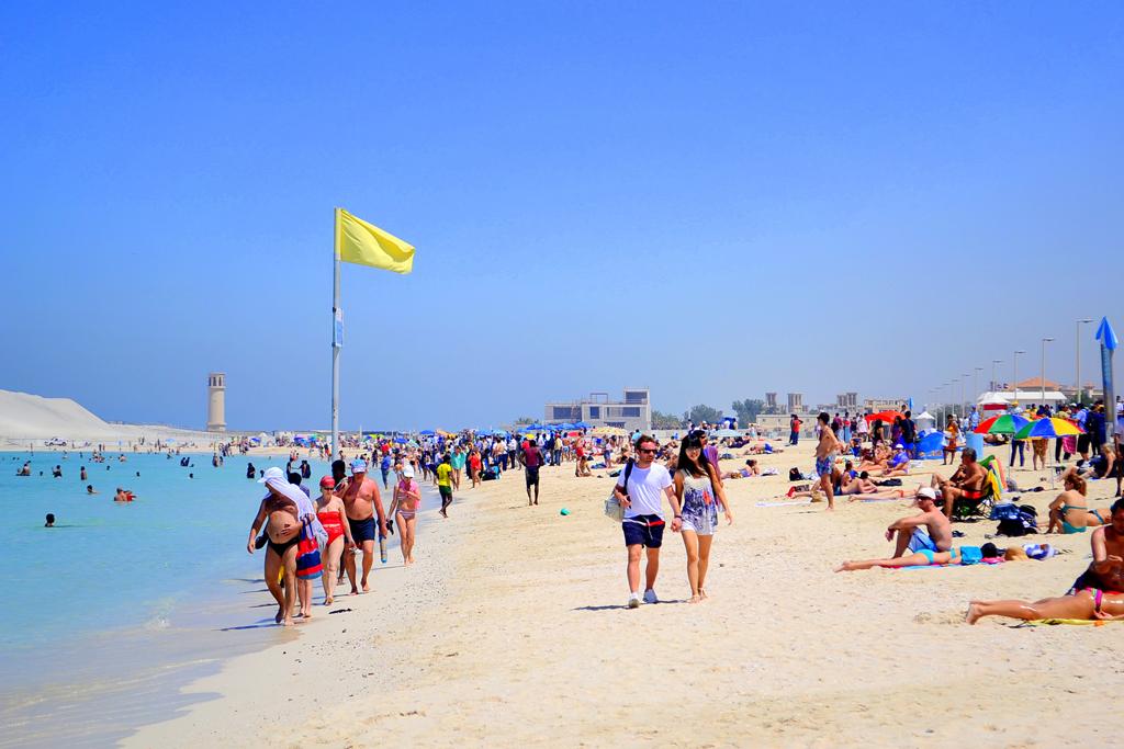 Пляж Джумейра в ОАЭ, фото 7