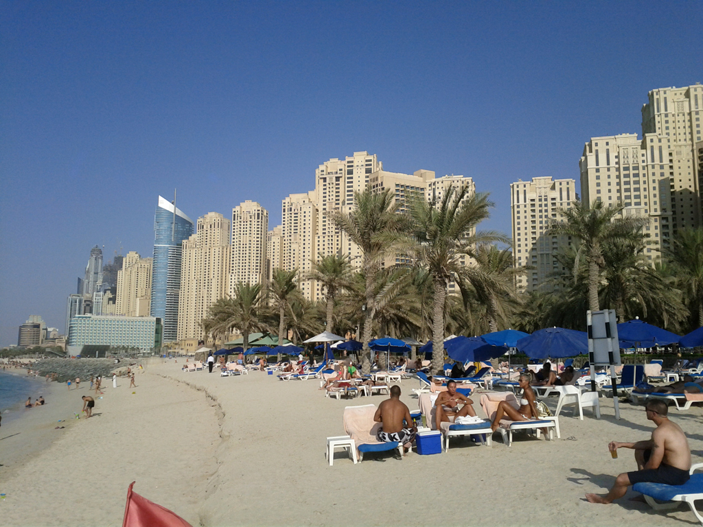 Пляж Джумейра в ОАЭ, фото 9