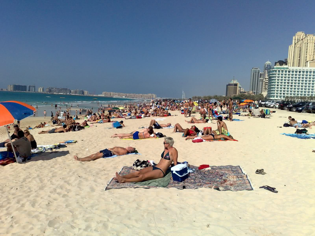 Пляж Джумейра в ОАЭ, фото 11