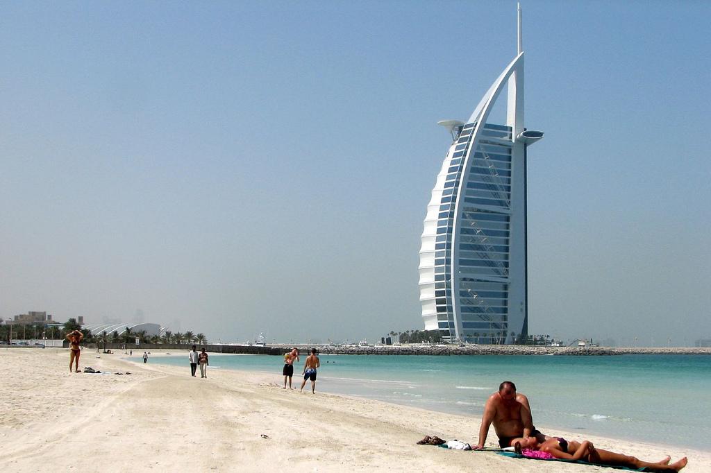 Пляж Джумейра в ОАЭ, фото 12
