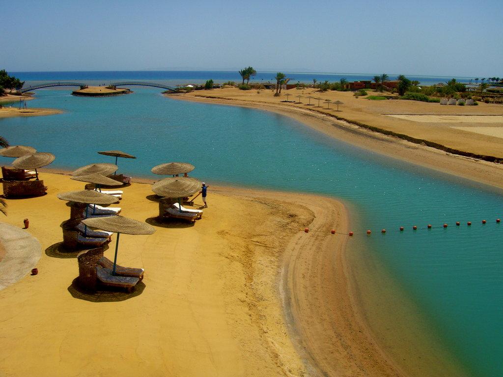 Пляж Эль-Гуна в Египете, фото 1